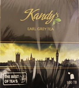 Kandy's Earl Grey Tea 100 torebek