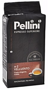 Pellini Espresso Superiore No 2 Vellutato 250g data ważn. 6/10/2019